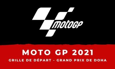 MotoGP - Grand Prix de Doha - La grille de départ