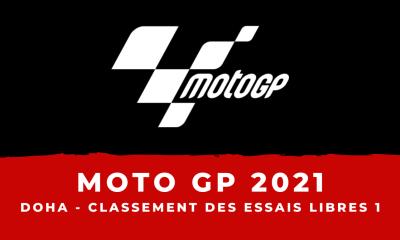 MotoGP - Grand Prix de Doha : le classement des essais libres 1