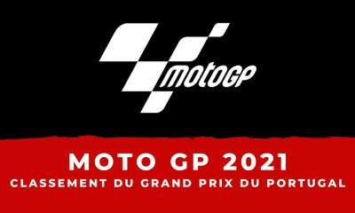 MotoGP - Grand Prix du Portugal 2021 - Le classement de la course