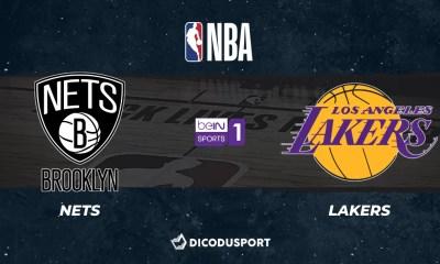NBA notre pronostic pour Brooklyn Nets - Los Angeles Lakers