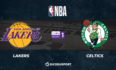 NBA notre pronostic pour Los Angeles Lakers - Boston Celtics