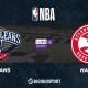 NBA notre pronostic pour New Orleans Pelicans - Atlanta Hawks