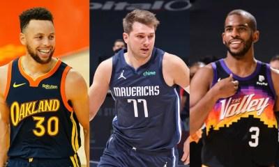 NBA top 3 des meneurs de jeu de la saison