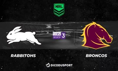 NRL 2021 notre pronostic pour South Sydney Rabbitohs - Brisbane Broncos