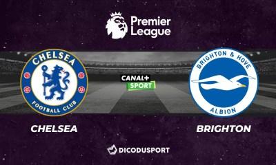 Pronostic Chelsea - Brighton, 32ème journée de Premier League