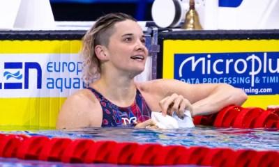 Championnats d'Europe de natation - Mélanie Hnique en argent sur le 50m papillon