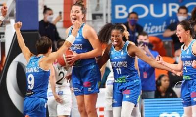 LFB : Basket Landes s'offre son premier titre de champion de France face à Lattes-Montpellier