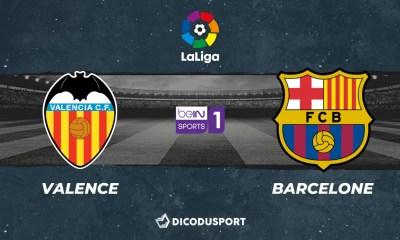 Pronostic Valence - FC Barcelone, 34ème journée de Liga
