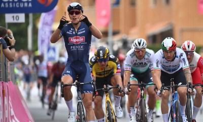 Tour d'Italie 2021 – Tim Merlier s'impose au sprint à Novara