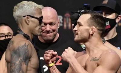 UFC 262 : Michael Chandler ou Charles Oliveira, qui sera le nouveau roi des poids légers ?