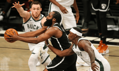 NBA Playoffs : Les Nets prennent le match 1 aux Bucks mais perdent James Harden sur blessure