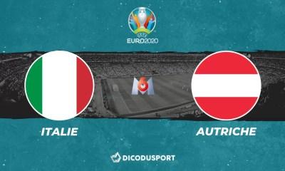 Pronostic Italie - Autriche, Euro 2020