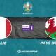 Pronostic Italie - Pays de Galles, Euro 2020
