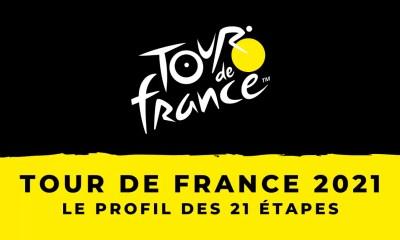 Tour de France 2021 - Le profil des 21 étapes
