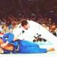 20 juillet 1996 : David Douillet, médaillé d'or aux Jeux d'Atlanta