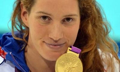 29 juillet 2012 L'or olympique et le record pour Camille Muffat