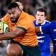 Australie : La composition pour le deuxième match face au XV de France