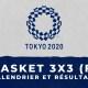 Basket 3X3 féminin - Jeux Olympiques de Tokyo calendrier et résultats