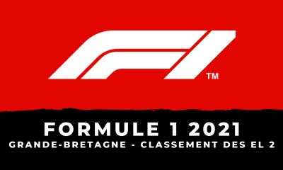 F1 - Grand Prix de Grande-Bretagne 2021 le classement des essais libres 2