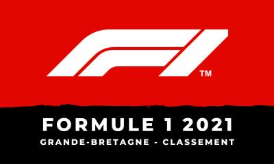F1 - Le classement du Grand Prix de Grande-Bretagne 2021