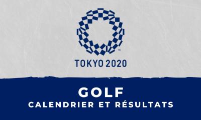 Golf - Jeux Olympiques de Tokyo : calendrier et résultats