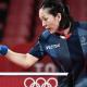 JO Tokyo 2020 - Tennis de table Jia Nan Yuan en démonstration rejoint le troisième tour