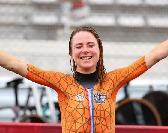 Jeux - JO Tokyo 2020 - Cyclisme Annemiek van Vleuten sacrée sur le contre-la-montre