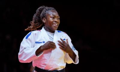 JO Tokyo 2020 - Judo : Expéditive, Clarisse Agbegnenou file en quart de finale