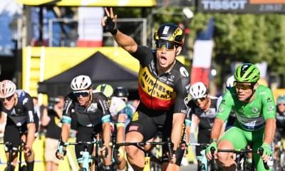 Tour de France 2021 : Wout van Aert s'impose sur les Champs-Élysées