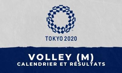Volley-ball masculin - Jeux Olympiques de Tokyo calendrier et résultats