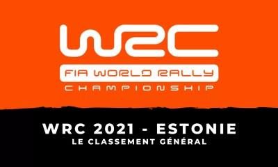 WRC 2021 - Rallye d'Estonie le classement général