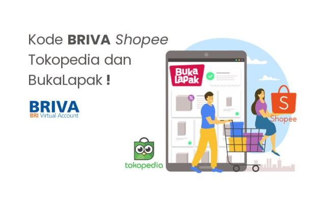 Kode BRIVA Toko Online