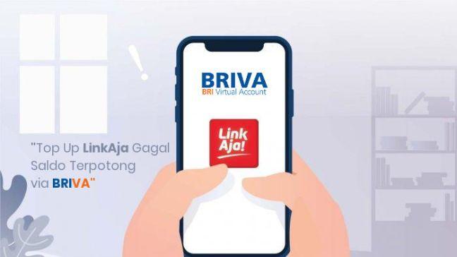Top Up LinkAja Tidak Bertambah via BRIVA