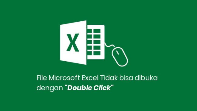 File Excel Double Click Error