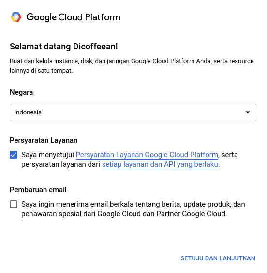 Google Cloud Platform Welcome!