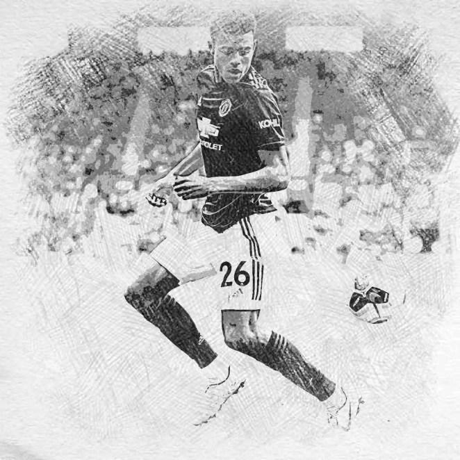 Mason Greenwood running