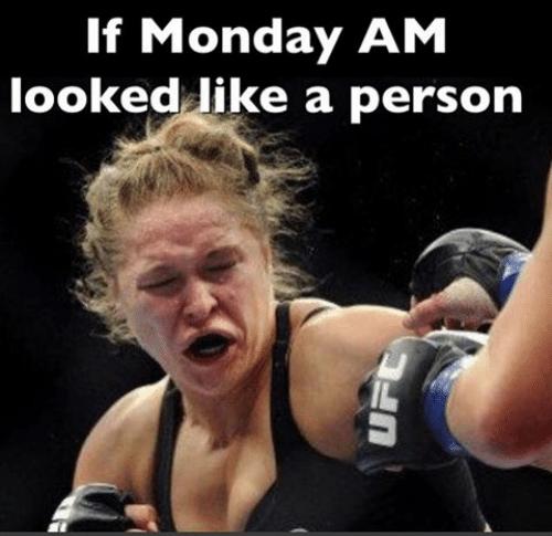 Monday morning break a leg