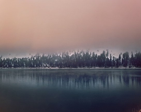Wallowa Lake, Oregon, medium format film, Dida Kutz