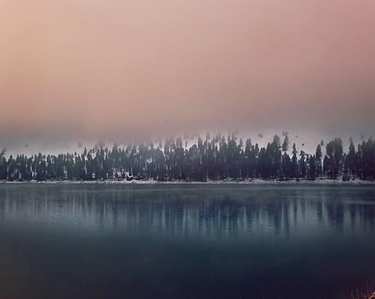 Wallowa Lake, Oregon, medium format film, Dida Kutz