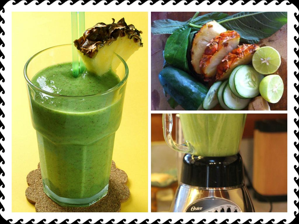 Jamaican Green Smoothies