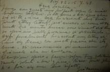 Lettera alla famiglia, 1943