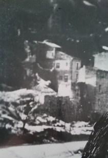 Antrodoco, ruderi a via Nazionale, dopo i bombardamenti del 13 giugno 1944
