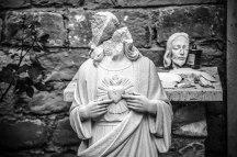 Amatrice, 09-09-2016. La canonica dove vive Don Savino.