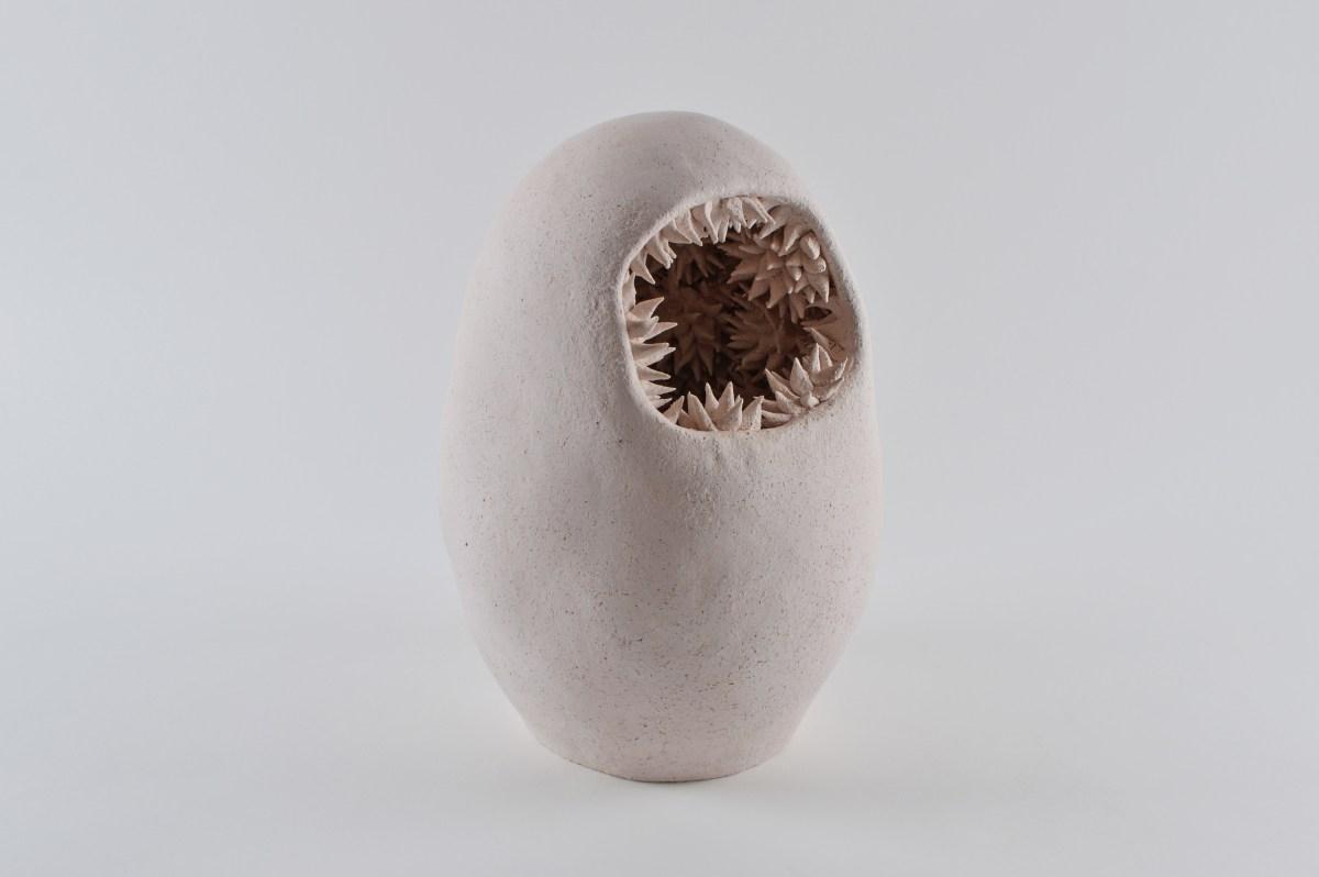 Escultura modelada a mano del artista Andrés Anza. Pieza única