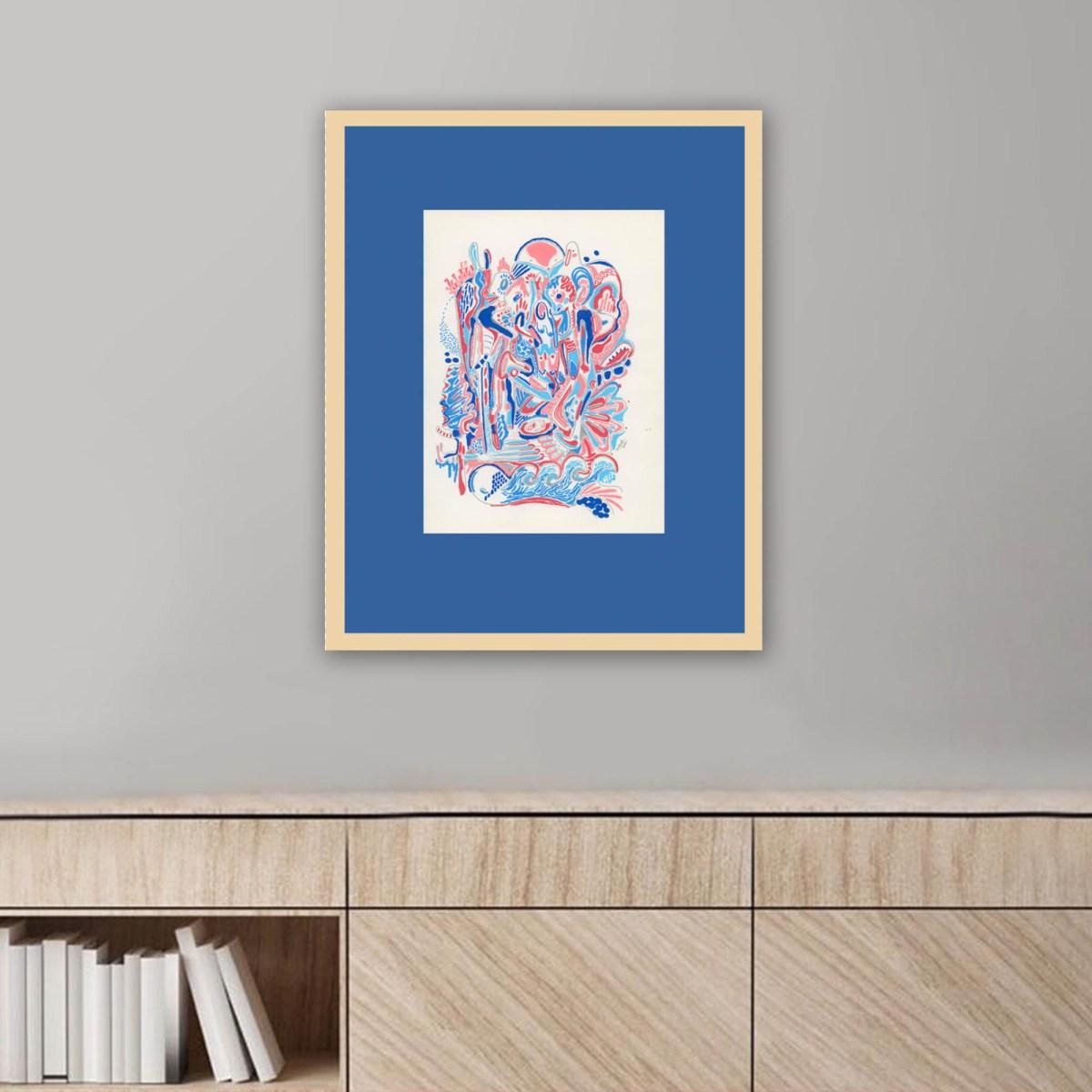 Obra Mar de Diana Quintero Vallejo en escritorio