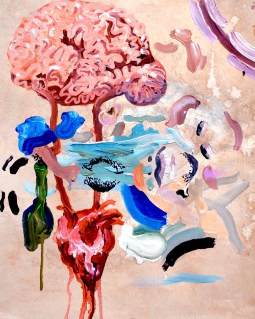 Pintura Infatuación de Alan Hernandez
