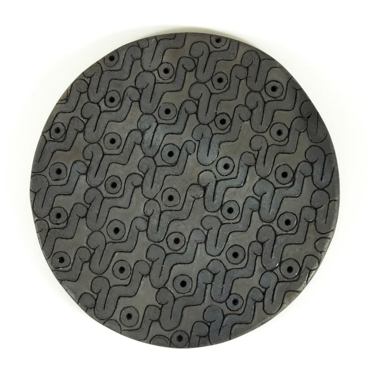 cerámica de media modelada a mano