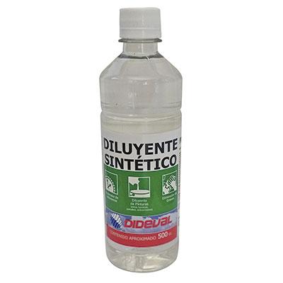 Diluyente Sintético Dideval 1/2 litro