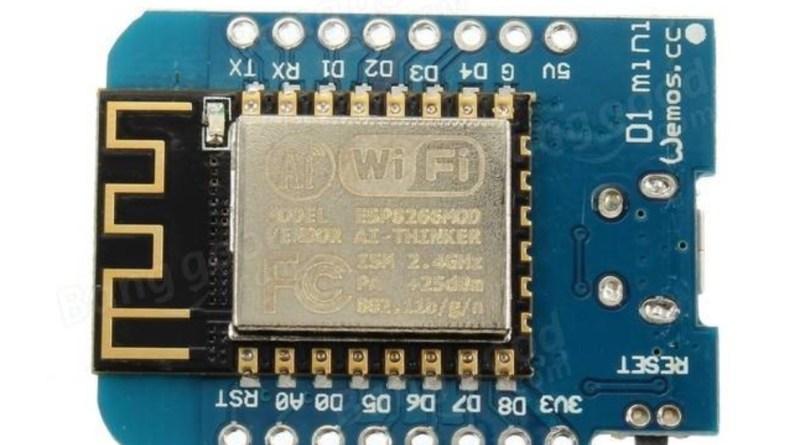 Bye bye Arduino, hello Wemos
