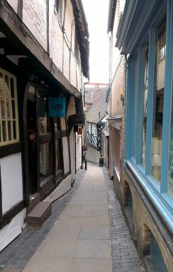 Anciennes rues de prostitution